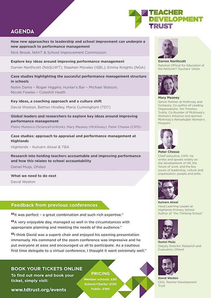 TDT Performance Development Summit image