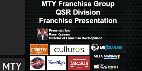 MTY Franchise Information Webinar (AUG 2020) tickets