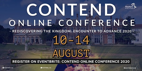 Contend Online Conference 2020 tickets