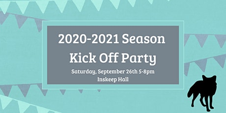2020-2021 Season Kick Off Party tickets