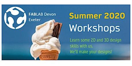 FABLAB Exeter 3D Named Keyring Workshop (Online - LIVE) tickets