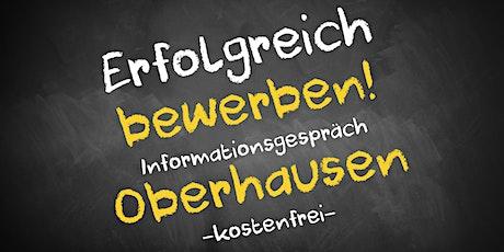 Bewerbungscoaching Online kostenfrei - Infos - AVGS Oberhausen Tickets