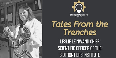 CA: Tales from the Startup Trenches - Leslie Leinwand tickets