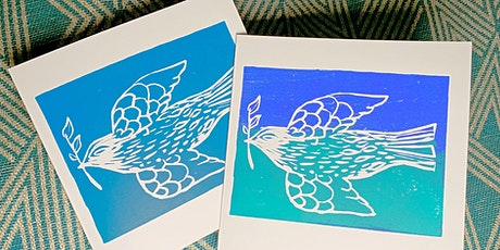 Lino Cut & Print Class - Socially Distanced tickets