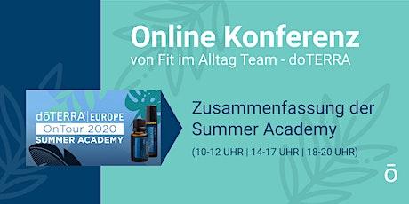 Online-Konferenz  vom Fit im Alltag -Team (doTERRA) Tickets