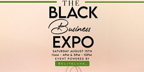 The Black Business Expo tickets