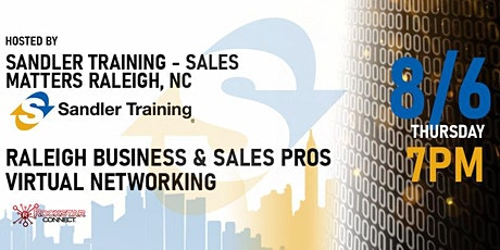Free Raleigh Business & Sales Pros Rockstar Connect Event (August) tickets