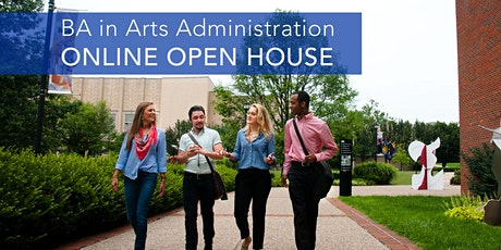 BA in Arts Administration Online Open House tickets