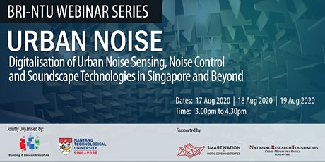 Urban Noise Webinar Series tickets