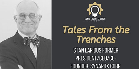 CA: Tales from the Startup Trenches - Stan Lapidus tickets