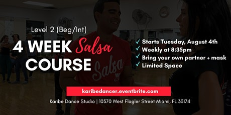 4  Week Intensive Salsa Course - Level 2 Salsa tickets