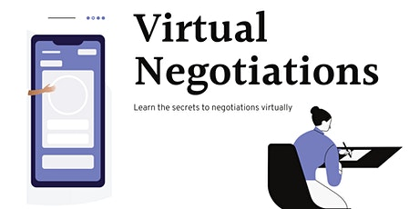 Strategies for Virtual  Negotiations tickets