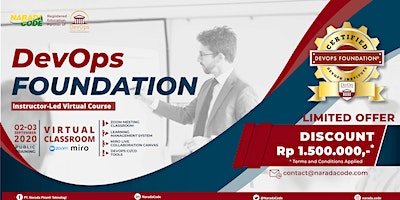 DevOps Foundation Training Jakarta, September  2nd 2020