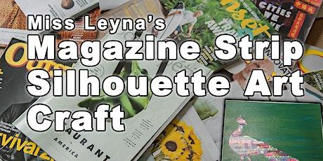 Magazine Strip Silhouette Art tickets