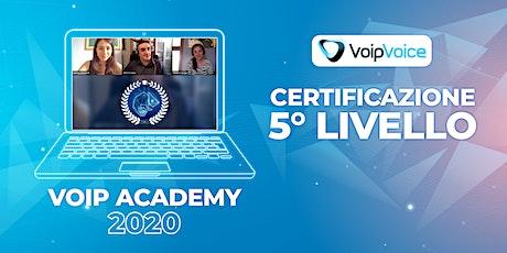 Corso di Certificazione Quinto Livello VoipVoice