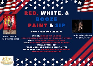 Red, White, & Booze Paint & Sip! tickets
