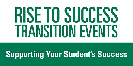 Supporting Your Student's Success tickets