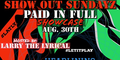 SHOW OUT SUNDAYZ tickets