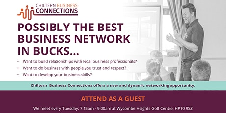 Breakfast Networking - Chiltern Business Connections (FREE ONLINE MEETING) tickets
