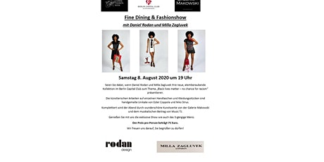 Fine Dining & Fashionshow Tickets