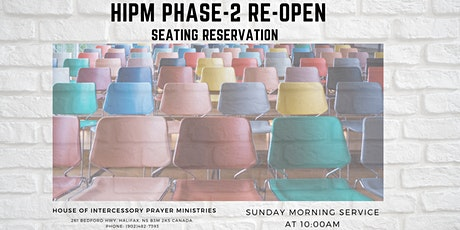 Copy of HIPM Sunday Service During COVID-19 tickets