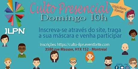 ILPN | Culto Presencial tickets