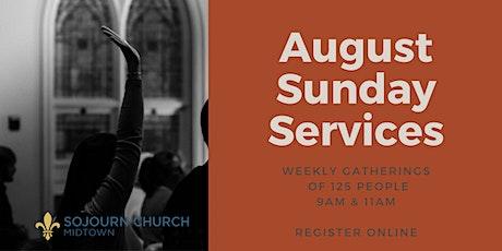 8.23.20 Sunday Service Registration tickets