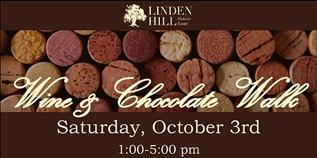 Wine and Chocolate Walk tickets