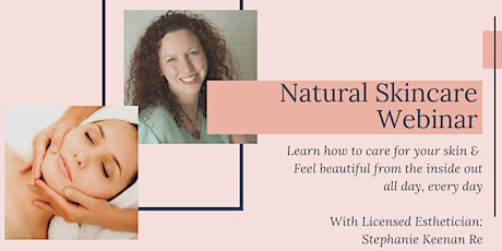 Natural Skincare tickets