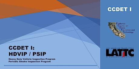 CCDET I: HDVIP/PSIP tickets