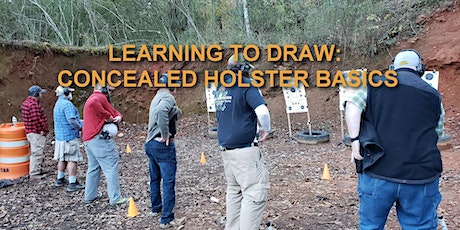 Learning to Draw: Concealed Holster Basics tickets