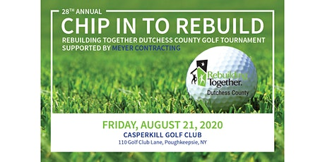 28th Chip In To Rebuild Golf Tournament tickets