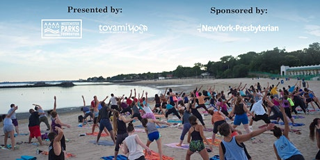 5th Annual Sunset Yoga in the Park: Playland Beach 8/12 tickets