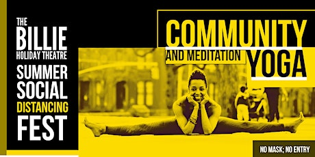 Summer Social Distancing Fest | Meditation and Yoga with Stephanie Battle tickets
