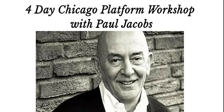 4 Day Chicago Platform Workshop With Paul Jacobs tickets