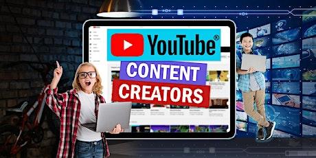 Summer Camp- Fab Lab- Youtube Content Creators- Black Rocket tickets