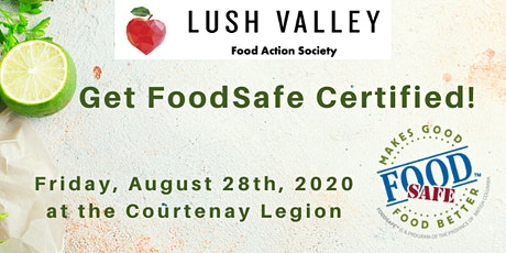 Food Safe Level 1 Certification Workshop tickets