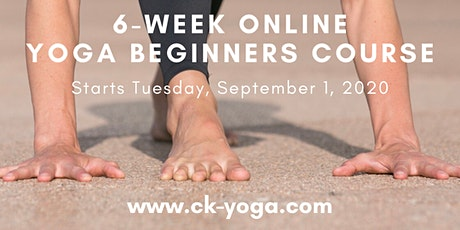 6-week Online Yoga Beginners Course tickets