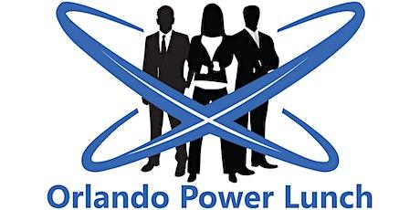 August  Orlando Power Lunch tickets