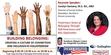 NW IL Regional Volunteerism Conference Series: A Year on Belonging tickets