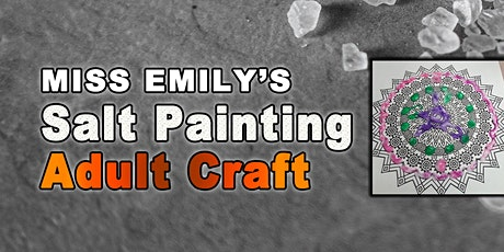 Adult Salt Painting Craft tickets