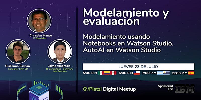 Anuncio de IBM + Platzi del 23 julio a las 5pm