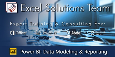 Power BI Desktop - Data Modeling and Reporting (2-Day Event) tickets