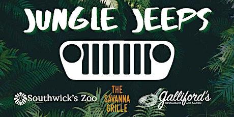 Jungle Jeeps Safari  at Southwick's Zoo tickets