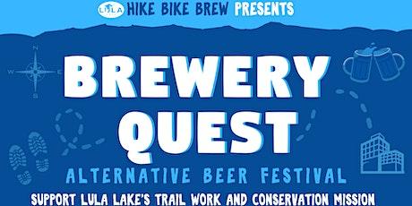 Brewery Quest: Hike Bike Brew Alternative Beer Festival tickets