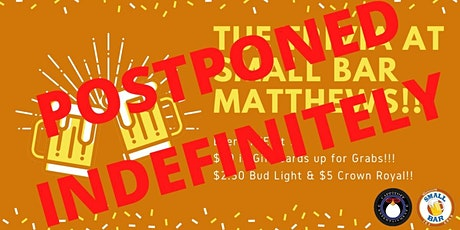 ***Postponed Indefinitely*** Tue Trivia at Small Bar Matthews tickets