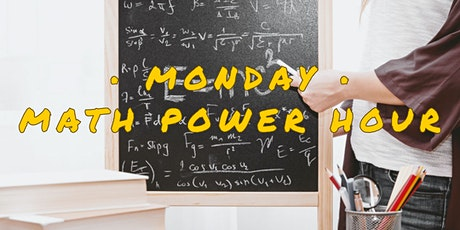 Monday Math Power Hour tickets