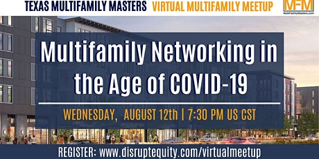 Multifamily Networking in the Age of COVID-19 tickets