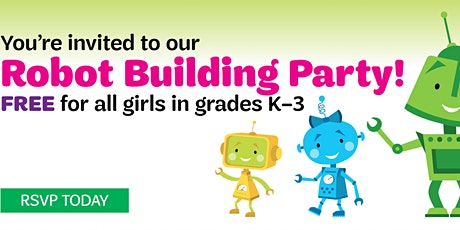 Girl Scout Robot Building Party tickets