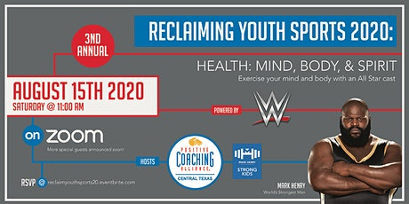 Reclaiming Youth Sports 2020 tickets